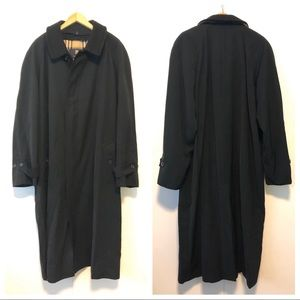 Burberry London Men's Lawrence Trench Coat Black